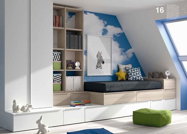 <p>Las camas Cubo se adaptan totalmente a las particularidades de tu espacio generando soluciones modernas, creativas, prácticas y muy personales.</p>