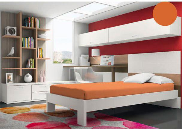 <p>Se compone de una cama formada por un aro de estructura recta, para somier de 90 x 190.</p>