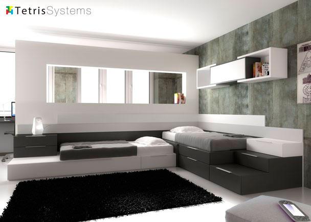 Este programa de amueblamiento permite multitud de creaciones, pues al ser modular permite adaptarse al espacio.