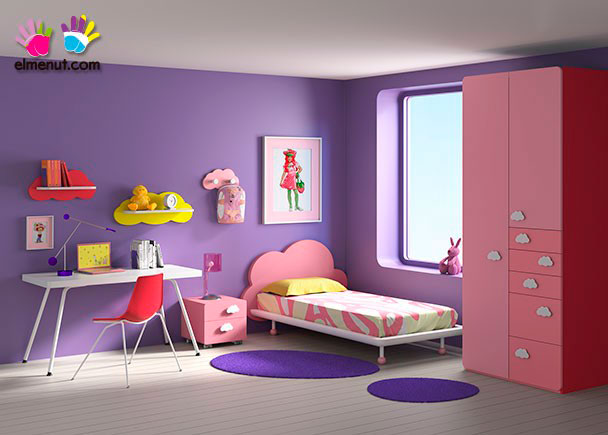 <p>Divertida habitación juvenil equipada con una novedosa propuesta de muebles modulares en la que las combinaciones de color marcan un nuevo orden.</p>