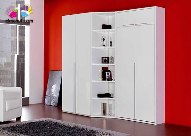 <p>Cama abatible vertical para colchon de 90 x 190. Estructura de cama de 106 x 207 cm. Cuenta con un armario de 106 cm y una libreria de dos fondos.</p>