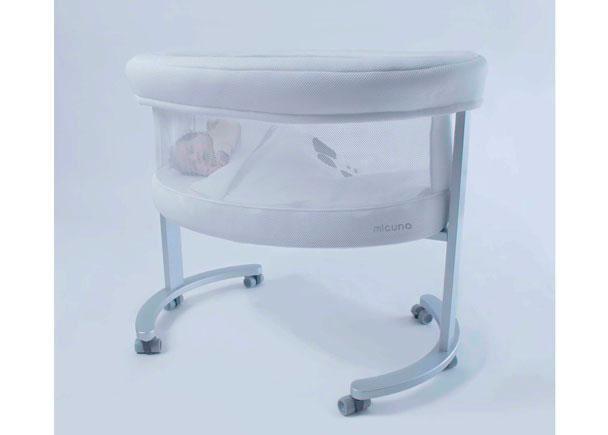 Minicuna modelo SMART FRESH para los primeros mesesdel bebé. Esta Minicuna está fabricada en madera de Haya y MDF lacado.Dispone de un pi&ea