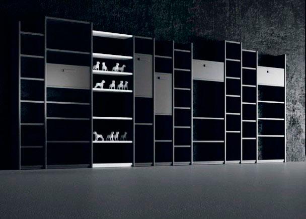 Organiza tus libros, tu música, recuerdos y mucho más. Tu decides el número de baldas, compartimentos, qué módulos van cerrad