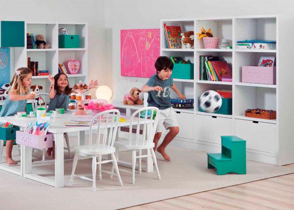 <p>Habitación infantil de juegoscompletamen