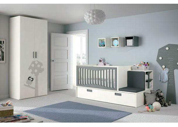 <p>Dormitorio para beb&eacute; con cuna convertible especialmente dise&ntilde;ada pensado en las mam&aacute;s durante el periodo de lactancia.</p>
