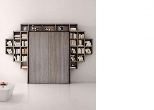 <p>Sal&oacute;n moderno italiano con composici&oacute;n mural de 364 de ancho x 250,1 de altura. Esta composici&oacute;n se fabrica en dos profundidades: 40,5 cm y 28 cm de fondo</p>