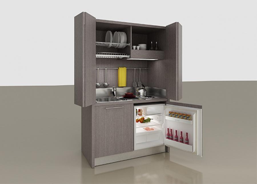 """<p>Las mini cocinas de elmenut.com est&aacute;n dise&ntilde;adas gracias a las d&eacute;cadas de experiencia en el mobiliario para apartamentos tur&iacute;sticos, hoteles, ambientes comunes, albergues, campings, hoteles, apartahoteles. La principal caracter&iacute;stica es la calidad que siempre distingue a nuestros productos. Las&nbsp;<span class=""""m_-6008560869628022174gmail-il"""">mini</span><span class=""""m_-6008560869628022174gmail-il"""">cocinas compactas</span>&nbsp;son muy c&oacute;modas, tanto para centros de trabajo, residenciales, hoteles, hostales, residencias como pensiones y dondequiera que necesites instalar una&nbsp;<span class=""""m_-6008560869628022174gmail-il"""">cocina</span>&nbsp;compacta y funcional, pudiendo ser cerrada y quedando oculta. Las&nbsp;<span class=""""m_-6008560869628022174gmail-il"""">mini</span>&nbsp;<span class=""""m_-6008560869628022174gmail-il"""">cocinas</span>&nbsp;de elmenut.com est&aacute;n certificadas 100% PRODUCTO ITALIANO y, en sus diferentes medidas y equipos, siendo capaces de satisfacer cualquier necesidad y tambi&eacute;n de adaptarse a todo tipo de espacio.</p>"""