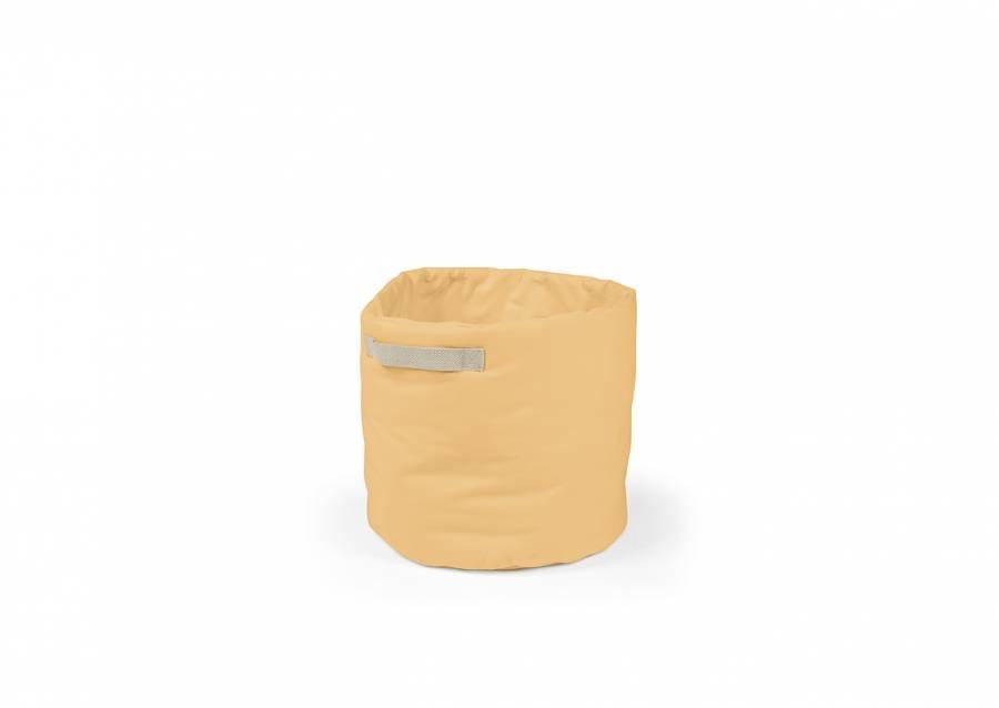 <p>&iexcl;Ordenar decorando un espacio! Seguro que te gusta la idea que te proponemos; una bonita y pr&aacute;ctica <strong>cesta de almacenamiento plegable</strong> de forma cil&iacute;ndrica, <strong>con asas decorativas</strong>, fabricada en tejido Panam&aacute; 100% de 35 cm de di&aacute;metro x 50 cm h. Adem&aacute;s de mantener el orden, contribuir&aacute;s a decorar cualquier espacio que elijas.</p>