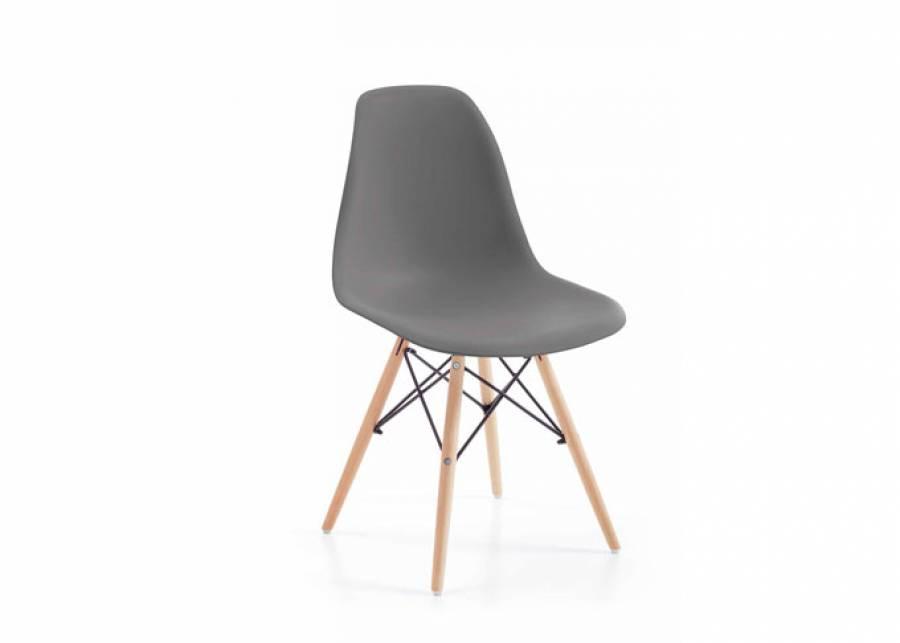 <p>Pr&aacute;ctica y atractiva silla para comedor o zona de estudio de estilo n&oacute;rdico, que alegrar&aacute; cualquier dormitorio juvenil rinc&oacute;n del hogar.</p>