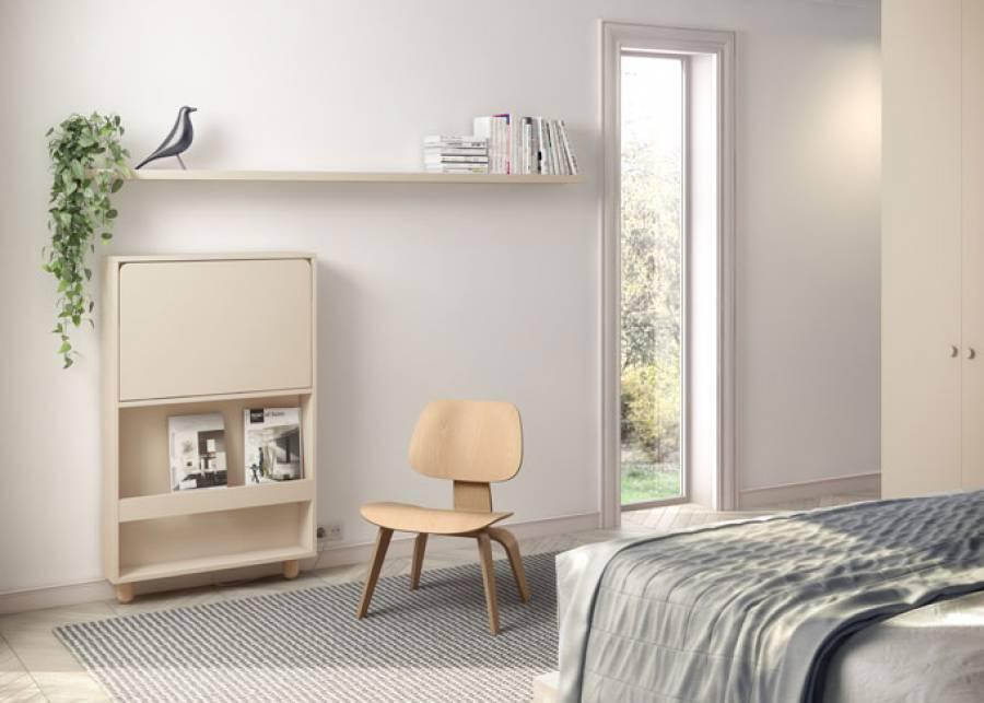 """<h3>&iexcl;Con este peque&ntilde;o mueble, tendr&aacute;s tu oficina en casa!</h3> <p style=""""text-align: justify;"""">Mesa escritorio plegable con estante revistero interior, ideal para habilitar una zona de trabajo en apartamentos de metraje reducido.</p> <p><br /><br /></p>"""