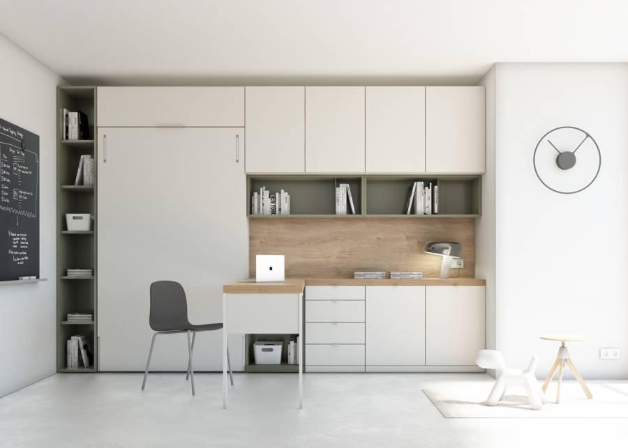 ¡Versatilidad y funcionalidad! Esta habitación está enfocada a cuarto de invitados, pero la mayoría del tiempo, se utiliza como zona