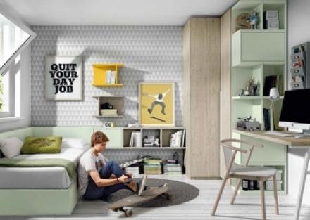 Dormitorios Juveniles Infantiles Y Camas Abatibles Elmenut Com