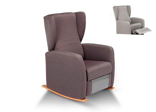 ARTIK mecedora relax manual de tres posiciones, asiento y el respaldo cinchados con cincha elástica de primera calidad. Nuestros modelos de lactancia ap