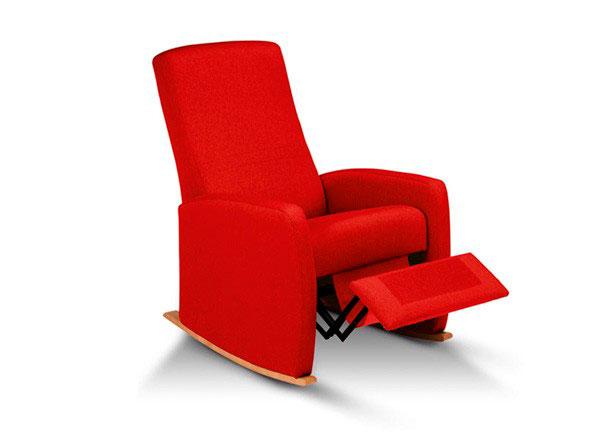 Sillón de lactancia modelo A-RELAX RELAX MANUAL de tres posiciones, asiento y el respaldo cinchados con cincha elástica de primera calidad Nuestr