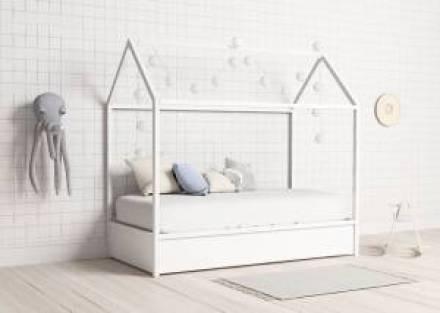 Casita cama nido para niños con cama nido