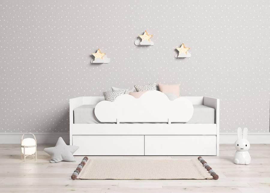 ¡Inspíralo a soñar! Con esta camita infantil la hora de dormir será la favorita de tu peque, resulta muy segura gracias a sus brazos