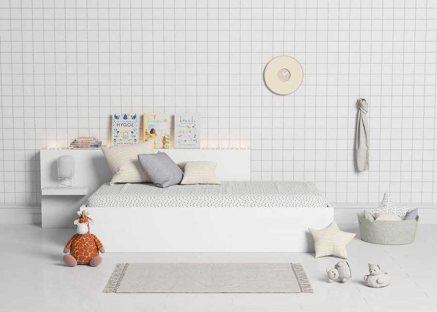 ¡El espacio con el que estabas soñando! Con este canapé-arcón de 36 cm de fondo y con tapa elevable de apertura lateral, podrá