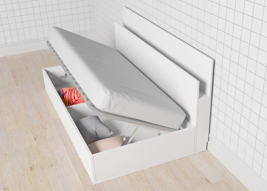 Canapé Elevable Lateral Para Cama De 90 X 190 Elmenut Com