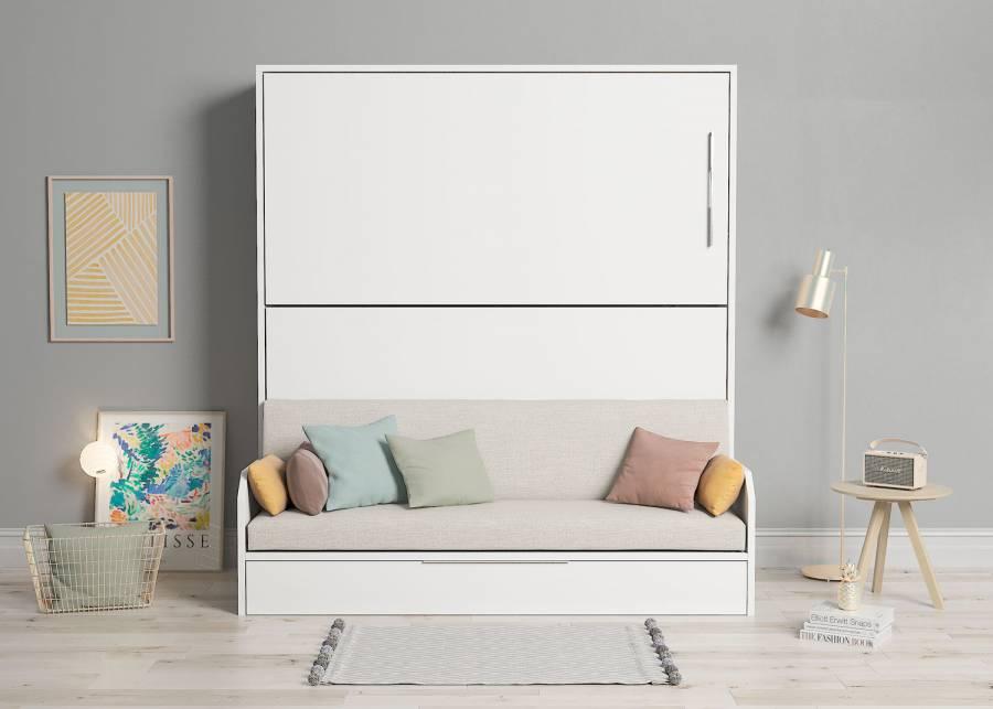 ¡3 camas en el espacio de una! En el espacio que te ocuparía solo una, podrás tener 3 camas muy fáciles de ocultar para dejar