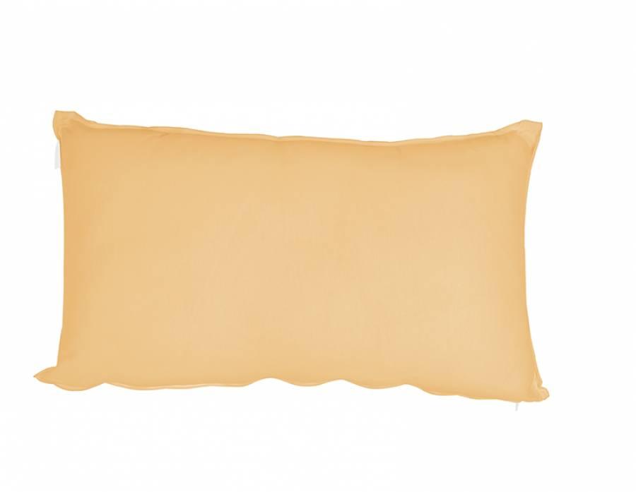 """<p style=""""text-align: justify;""""><strong>Coj&iacute;n rectangular en color ocre, de 65 x 35, con cremallera.</strong> El complemento textil que estas buscando si quieres a&ntilde;adirle un pcoo de vida y color a tu cama.&nbsp;</p>"""