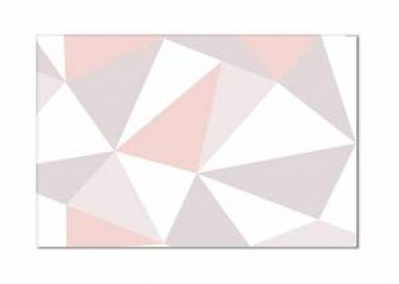 Alfombra ORIGAMI PINK 80x120 cm