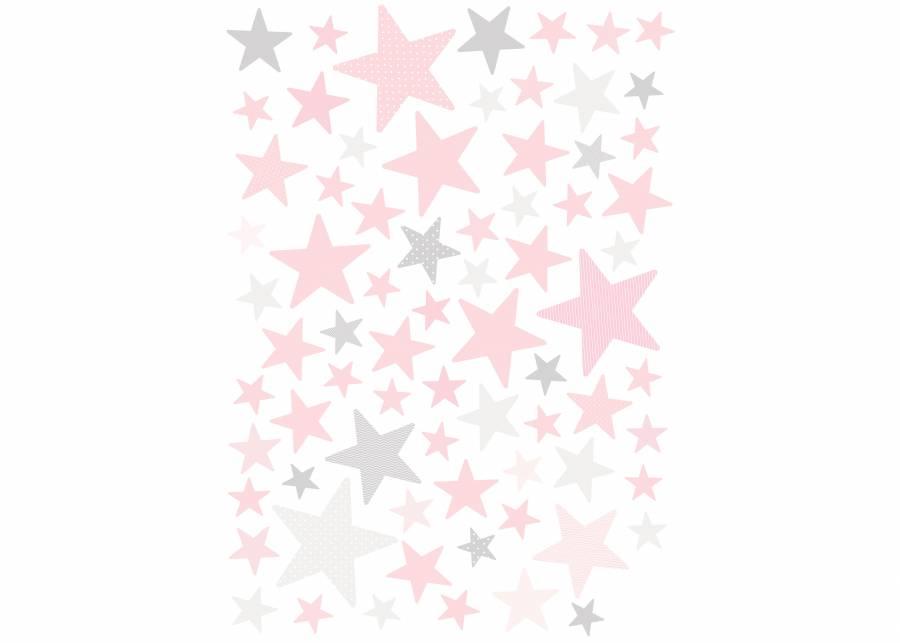 """<h2 style=""""text-align: justify;"""">Tu eres la estrella</h2> <p style=""""text-align: justify;"""">&iquest;El dormitorio de tus hijos te parece mon&oacute;tono y aburrido? Dale un toque de color <strong>divertido y original</strong> con estas <strong>estrellas</strong> de diferentes tama&ntilde;os en varios tonos de <strong>rosa</strong>, y es tan <strong>f&aacute;cil de poner</strong> que ellos podr&aacute;n participar <strong>personalizando</strong> su propio espacio.</p>"""