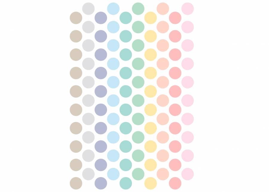 "<h2 style=""text-align: justify;"">Topitos de colores</h2> <p style=""text-align: justify;"">Con una sola l&aacute;mina de <strong>vinilo decorativo</strong> dispondr&aacute;s de <strong>100 topitos</strong> de diferentes colores, para <strong>comb&iacute;nalos</strong> como t&uacute; quieras. An&iacute;mate a probarlos, son <strong>divertidos, coloridos</strong> y muy <strong>f&aacute;ciles</strong> de poner y quitar.&nbsp;</p>"