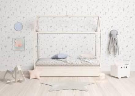 <h2>&iexcl;Un dormitorio muy mono!</h2> <p style=&