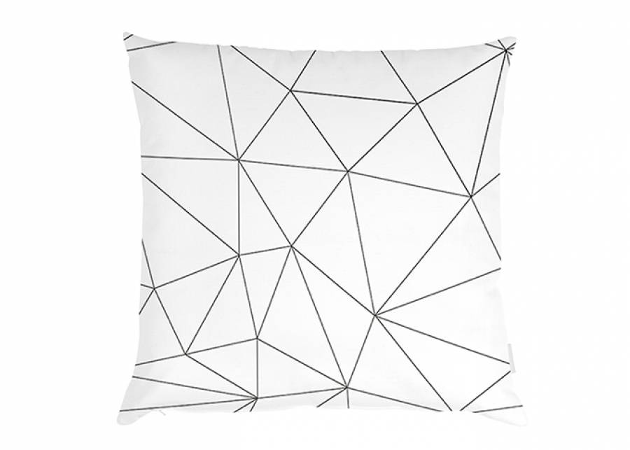 "<p style=""text-align: justify;""><strong>Coj&iacute;n dise&ntilde;o origami sobre fondo blanco, de 45 x 45, con cremallera.</strong> Un complemento textil elegante y moderno que le dar&aacute; un toque diferente a tu cama.&nbsp;</p>"