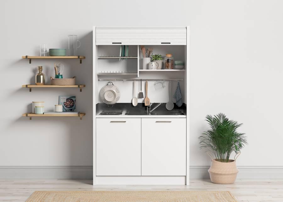 ¡No te quedes sin cocina! Sin importar que tengas poco espacio, no te quedes sin cocina. Con esta completa solución tendrás todo lo q