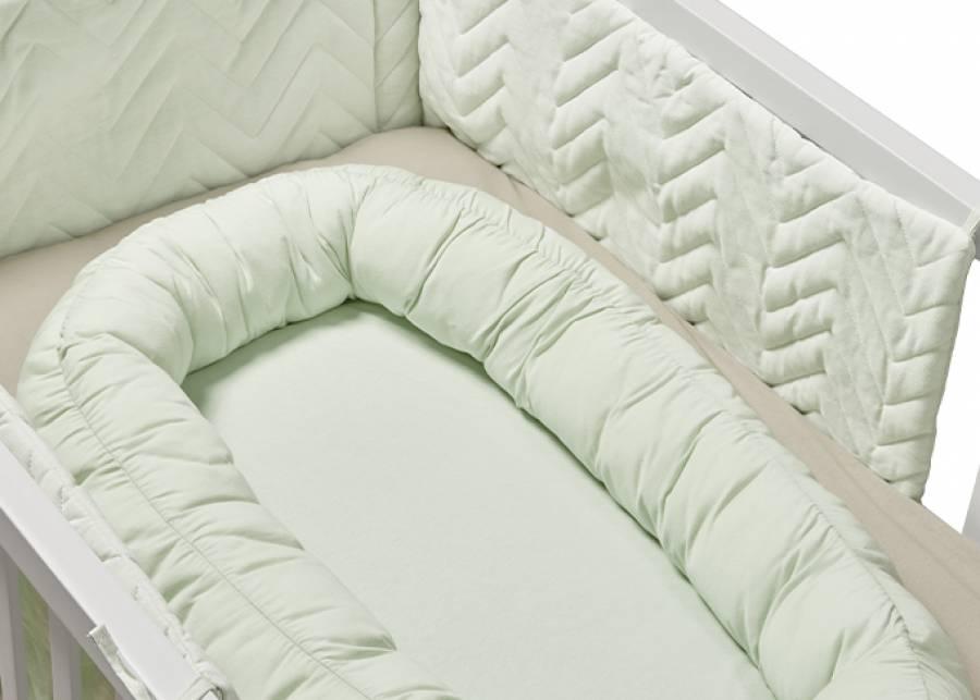 ¡Confort y seguridad! Añadele a tu cunita este nido para ofrecerle a tu bebé un mayor confort y seguridad, casi como si estuviese arr